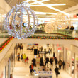 Shopping mall during winter holidays — Stock Photo #61967017
