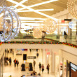 Shopping mall during winter holidays — Stock Photo #61967035