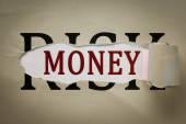 Money in Risk — Stock Photo