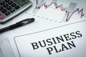 Business plan — Zdjęcie stockowe