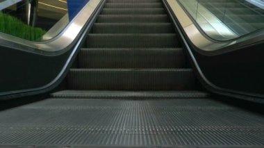 Escalator steps — Stock Video