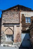 Poverty-stricken lodging in urban district for poor  Yerevan, Armenia — Stock Photo