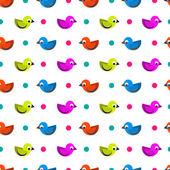 Birdie — Stock Vector