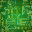 Circuit board seamless pattern — Stock Vector #70494083