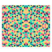Triangle patterned background, mosaic — Stock Vector