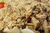 Fresh prepared salad in a bowl to take — Foto Stock
