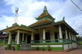 Kampung Ayer Barok Mosque in Malacca — Stock Photo