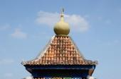 清真寺 Machap 喇嘛 (老 Machap 清真寺) 在马六甲 — 图库照片