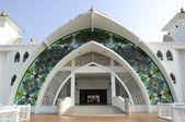 Malacca Straits Mosque (Masjid Selat Melaka) in Malacca — 图库照片