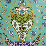 Islamic Floral Motif Pattern on Mosaic — Stock Photo #61297241