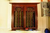 Window detail at Kampung Duyong Mosque a.k.a Masjid Laksamana Melaka in Malacca — Stock Photo
