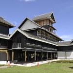 Seri Menanti Royal Museum in Sri Menanti — Stock Photo #61383089