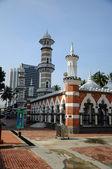 Kuala Lumpur Jamek Mosque in Malaysia — Stock Photo