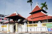Mešita Kampung Hulu v Malacca, Malajsie — Stock fotografie