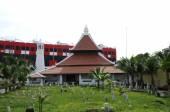 Masjid Kampung Hulu in Malacca, Malaysia — Stockfoto