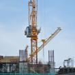 Tower Crane lifting heavy load — Stock Photo #64499643