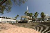 Aka krajowych Meczet Malezja Muzułmańskie Negara — Zdjęcie stockowe