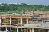 Construction sites under progress in Malaysia — Stock Photo
