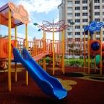 Children Outdoor Playground in Selangor, Malaysia — Stock Photo #69571523