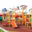 Children Outdoor Playground in Selangor, Malaysia — Stock Photo #69571799