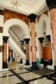 Pillars of Ubudiah Mosque at Kuala Kangsar, Perak, Malaysia — Stock Photo