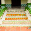 Traditional steps of Air Barok Mosque at Jasin Malacca, Malaysia — Stock Photo #69600529