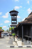 Minaret of Kampung Laut Mosque at Nilam Puri Kelantan, Malaysia — Stock Photo