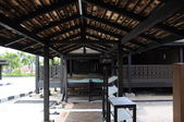Roof detail at Kampung Laut Mosque at Nilam Puri Kelantan, Malaysia — Stock Photo
