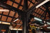 Architectural detail of Kampung Laut Mosque at Nilam Puri Kelantan, Malaysia — Stock Photo