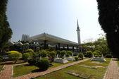 The National Mosque of Malaysia a.k.a Masjid Negara — Stock Photo