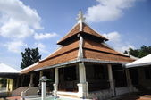 Peringgit Mosque in Malacca, Malaysia — Stock Photo