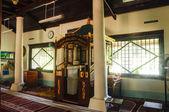 Interior of Peringgit Mosque in Malacca, Malaysia — Stock Photo