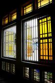 ムアール、ジョホールのスルタン イブラヒム ジャメ モスクのドア — ストック写真
