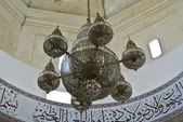 Chandelier of The Abidin Mosque in Kuala Terengganu, Malaysia — Stock Photo