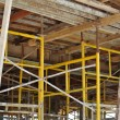 Scaffolding erected to support slab formwork — Stock Photo #72107661