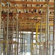 Scaffolding erected to support slab formwork — Stock Photo #72107677