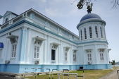 The Sultan Ismail Mosque in Muar, Johor, Malaysia — Stock Photo