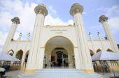 Sultan Mahmud Mosque in Kuala Lipis, Pahang — Stock Photo
