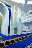 Interior of Puncak Alam Mosque at Selangor, Malaysia — Stockfoto