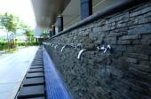 Ablution of Puncak Alam Mosque at Selangor, Malaysia — Stock Photo