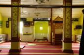 Interior of Masjid Kariah Dato Undang Kamat, Johol, Negeri Sembilan — Stock Photo