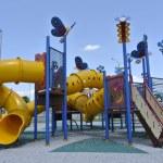 Children Outdoor Playground in Seremban — Stock Photo #79895960
