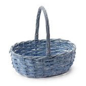 Wicker basket of natural materials — Stock Photo