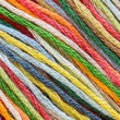 Multicolor sewing threads texture — Stock Photo #59980725