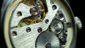 Mechanism inside an old watch — Stock Photo