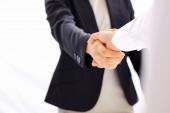 Business handshake stock images — Stock Photo