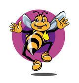 Honeybee — Stock Vector