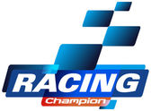 Racing Champions Logo — Stock Vector