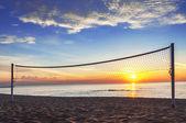 Beautiful sunrise over the horizon. — Stock Photo