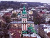 Ukrainian church in the city center — Stock Photo